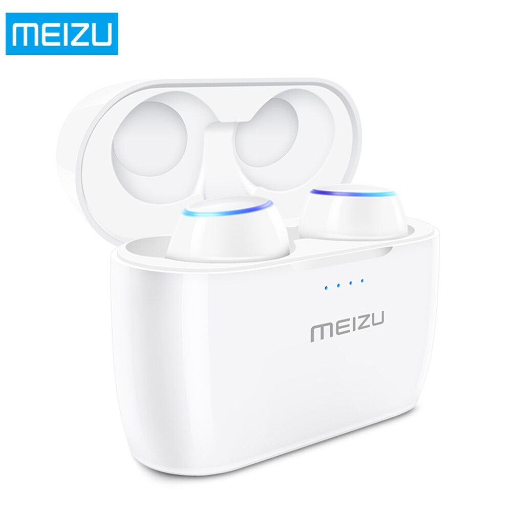 MEIZU поп TW50 True Беспроводной наушники СПЦ Bluetooth наушники-вкладыши IPX5 Водонепроницаемый спортивные наушники с Беспроводной зарядный чехол