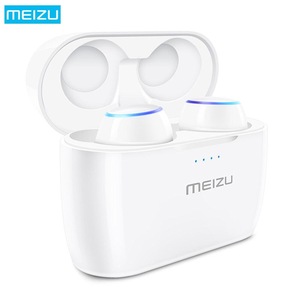 MEIZU POP TWS True беспроводные наушники bluetooth наушники-вкладыши с микрофоном водостойкие спортивные стереонаушники Голосовое управление