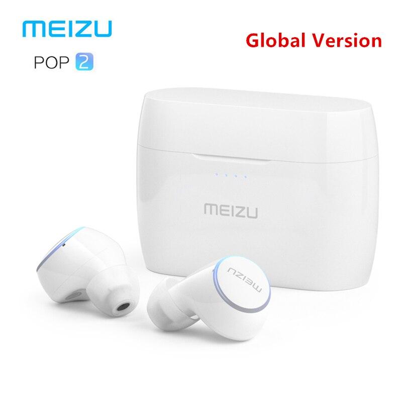 Оригинал Meizu POP 2 Bluetooth 5,0 наушники обновленная версия Беспроводная Спортивная гарнитура IP5X водостойкий для iPhone Xiaomi Meizu