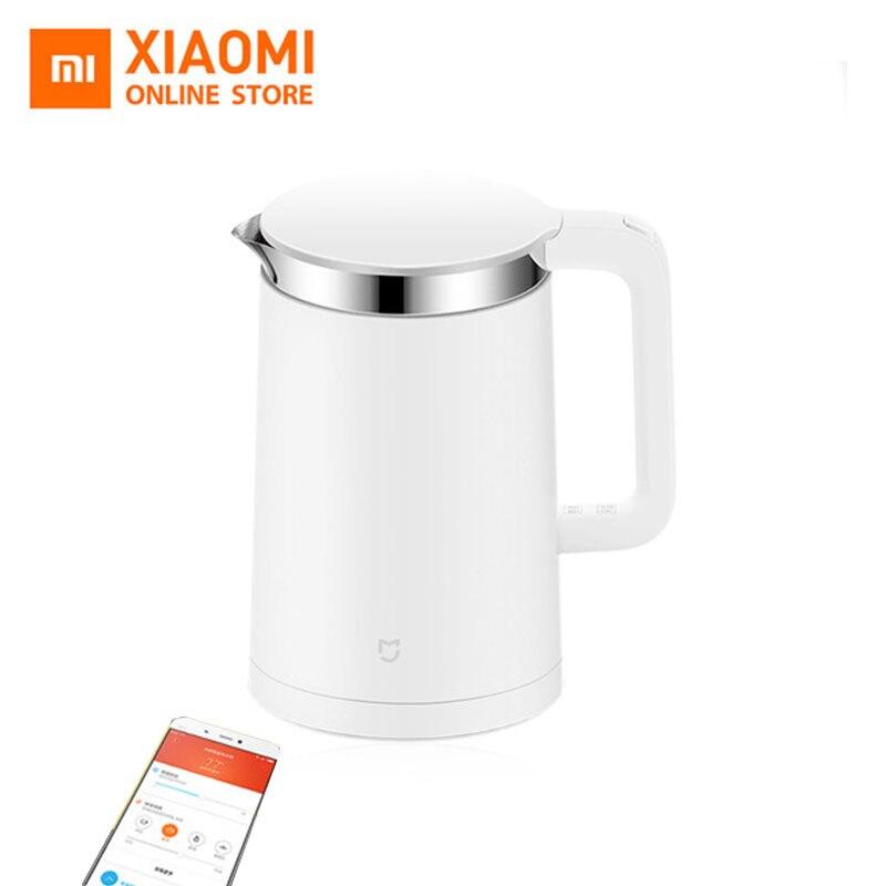 Оригинал Сяо Ми постоянная температурный контроль, Электрический воды чайник дома 1.5L 12 часов теплоизоляция мобильное приложение ЕС