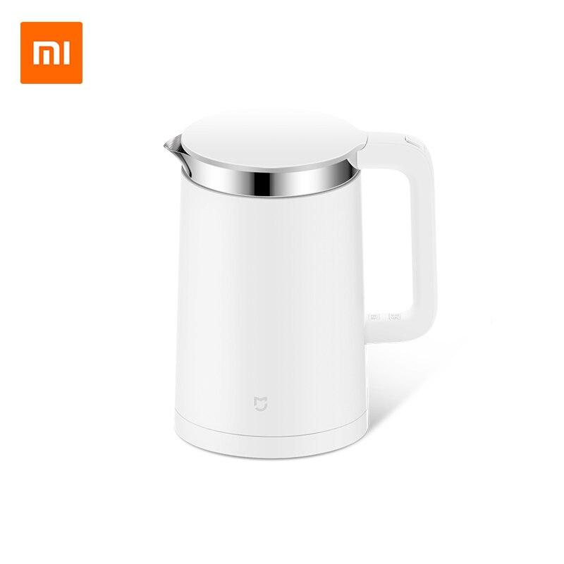 Оригинальный Xiao mi Электрический чайник Smart постоянный контроль температуры воды mi Home 1.5L Теплоизоляция чайник мобильное приложение