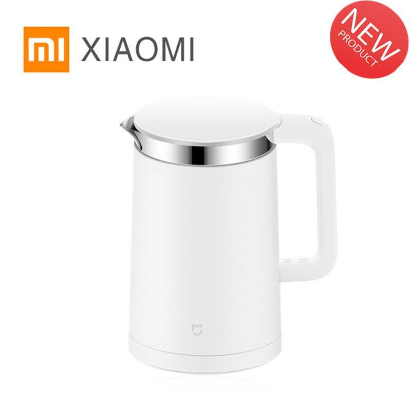 Оригинальный Xiaomi Mi Электрический чайник 1.5L защита от перегрева из нержавеющей стали проводной Ручной мгновенный нагрев Электрический чайн...