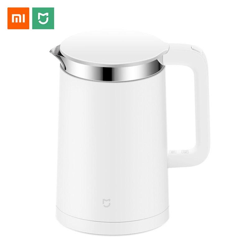 Xiao mi jia Электрический чайник с термостатом постоянной температуры mi APP control 1.5L умный котел для воды чайник из нержавеющей стали