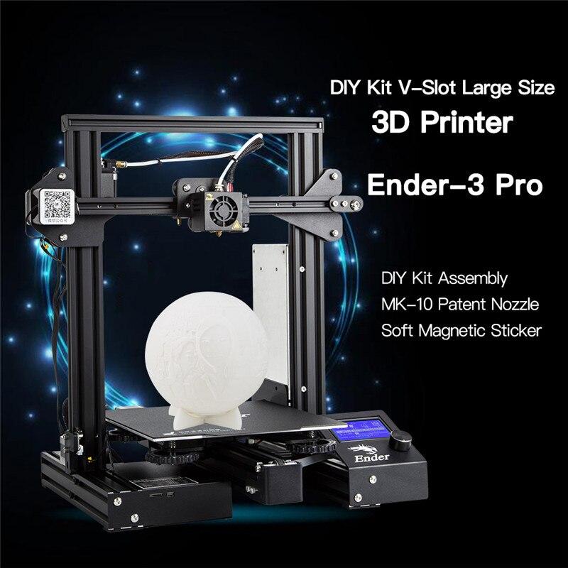 CREALITY 3D Ender-3 PRO 3d принтер Модернизированный Cmagnet сборная пластина возврат сбоя