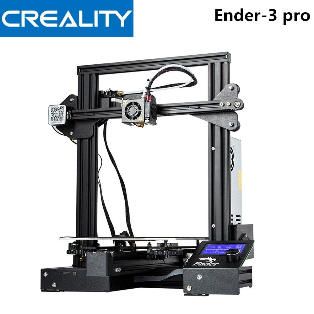 Creality 3D Ender-3 PRO 3d принтер Модернизированный Cmagnet сборная пластина возврат сбоя питания печать DIY KIT Средняя мощность принтеров