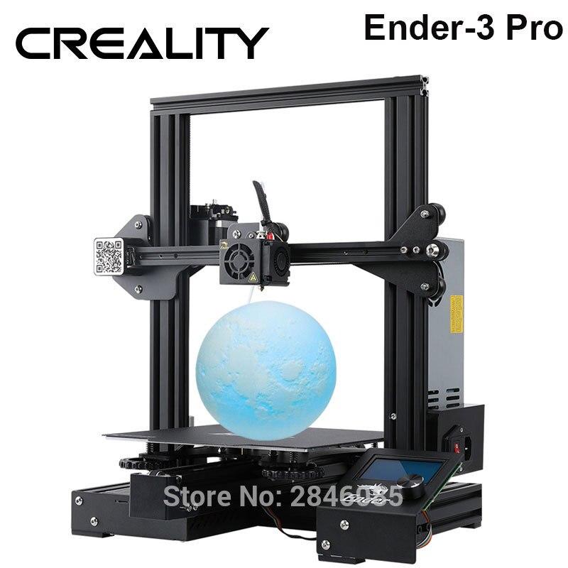 Creality 3D Ender-3 PRO 3d принтер Модернизированный Cmagnet сборная пластина возврат сбоя питания печать DIY комплект средняя мощность питания