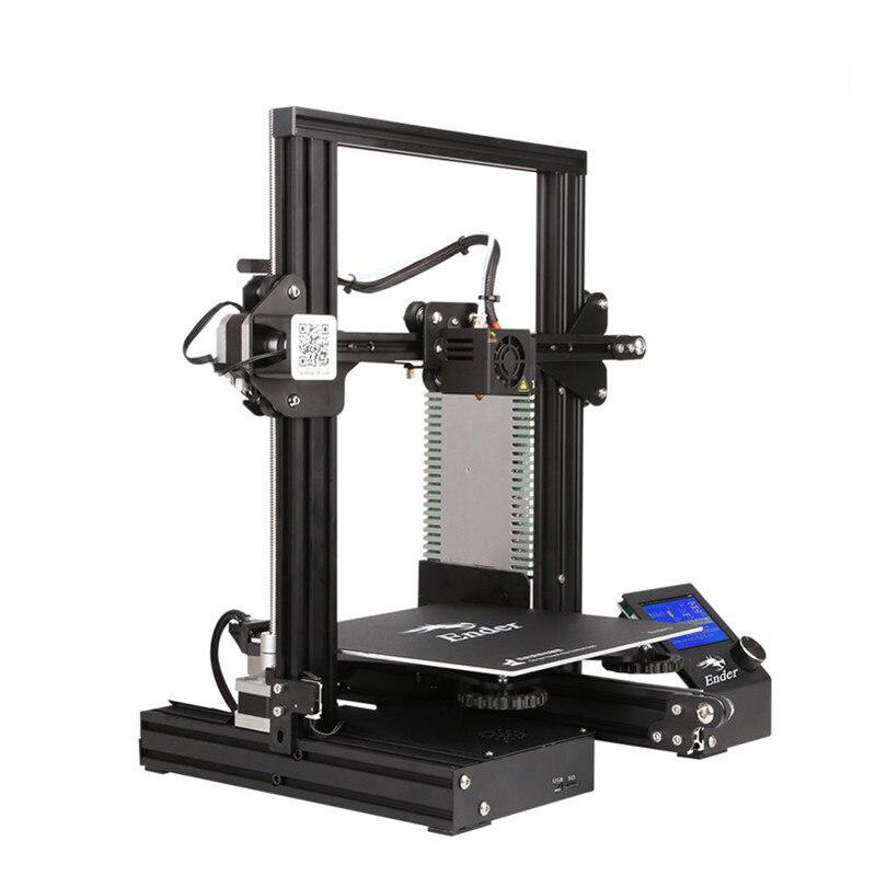 Горячая Creality Ender-3 Pro DIY Kit 3D принтер большого размера I3 мини Эндер 3/Ender-3X принтер 3D печать мощность Creality 3D
