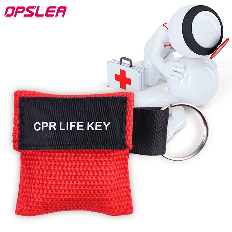 3 шт./лот, медицинская маска для реанимации, брелок для ключей, защитная маска для лица, первая помощь для реанимации, для выживания на улице, ...