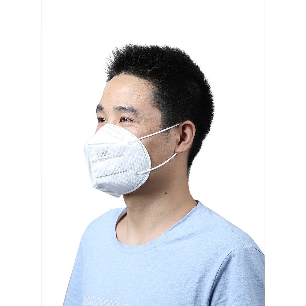 10 шт. KN95 маска одноразовая маска для лица Защитная маска KN95 маска для рта Пылезащитная маска PM2.5 маска для защиты от пыли маска для взрослых