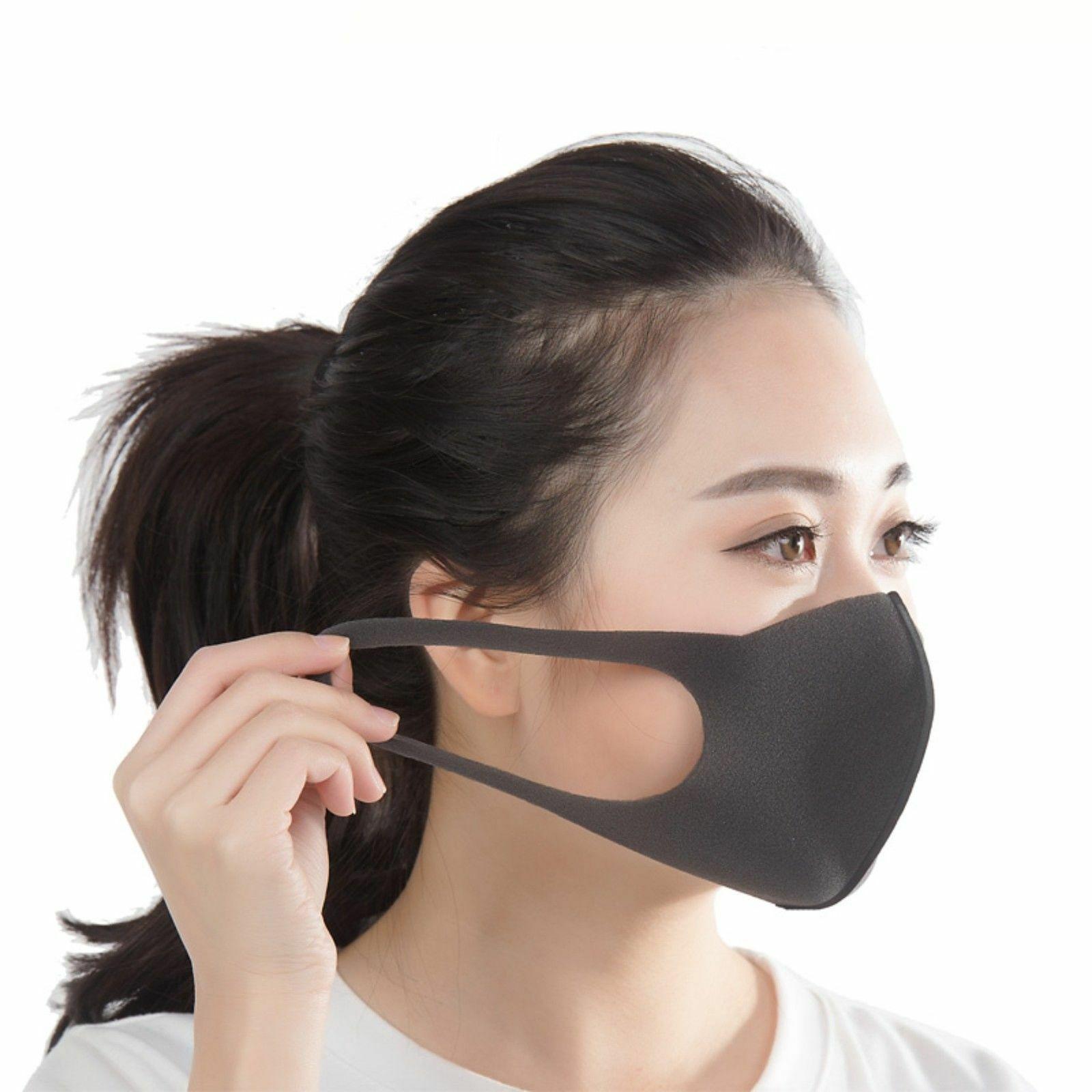 3 шт. обычный размер черная Питта маска темно-серый Япония анти-загрязнения/пыли маска для лица