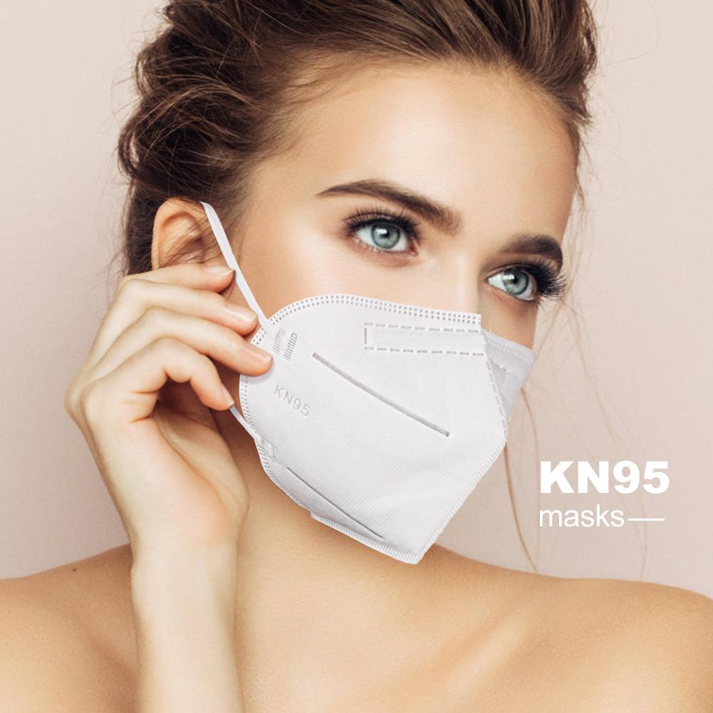 KN95 PM 2,5 респиратор нетканый анти-пылезащитный мускус KN95 маска для лица Антивирусная KN95 респиратор защитная маска